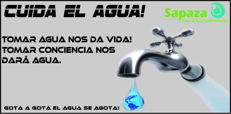 cuida el agua